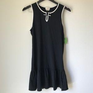 NWT Kate Spade Dress Black White Tennis